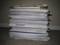 dokumenty, papiery