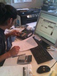 pracownik biura rachunkowego